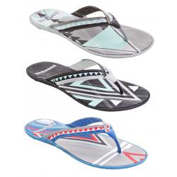 Boombuz Taiga dressed multicolor, divisori, sandali-da-spiaggia, affilacoltelli, flip-flops