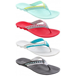 Boombuz Women Lolla half dressed, Toe dividers, flip-flops, beach sandals